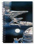 Hdr Hood Ornament Spiral Notebook