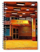 Hdr Medical Building Spiral Notebook