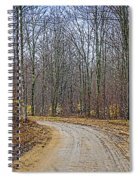 Hdr Rainy Spring Adventure Spiral Notebook
