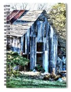 Hdr Tin Patch Roof Barn Spiral Notebook