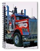 Hdrcatr3120-13 Spiral Notebook