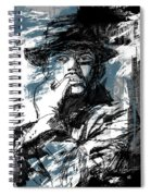 He Calls It Home - Blue Spiral Notebook