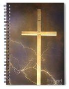 He Has Risen Spiral Notebook
