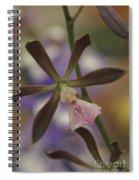 He Pua Ke Aloha - The Flower Of Love - Orchidea Tropicale Spiral Notebook