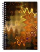 He Zigged And She Zagged Spiral Notebook
