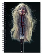 Head And Knife Spiral Notebook