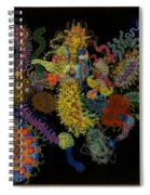 Head Long Spiral Notebook