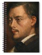 Head Of A Man Spiral Notebook