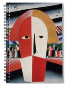 Head Of A Peasant Spiral Notebook