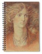 Head Of A Woman Called Ruth Herbert Spiral Notebook