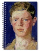 Head Of A Young Man Spiral Notebook