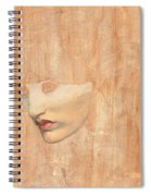 Head Of Proserpine Spiral Notebook