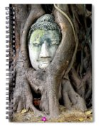 Head Of The Sandstone Buddha Spiral Notebook