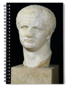 Head Of Titus Spiral Notebook