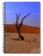 Head Stand Spiral Notebook