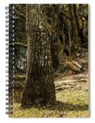Headed For The River Spiral Notebook