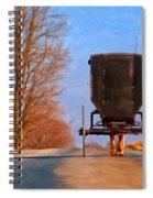 Headed Home Spiral Notebook