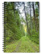 Heading Back Spiral Notebook