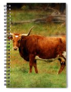 Heading For The Barn Spiral Notebook
