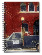 Heading Out To Plow Spiral Notebook