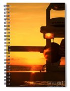 Heading Towards The Sun By Diana Sainz Spiral Notebook