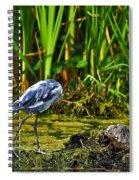 Headless Heron Spiral Notebook