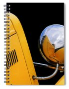 Headlight Reflections In A 32 Ford Deuce Coupe Spiral Notebook