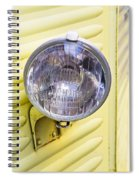 Headlight Spiral Notebook