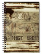 Headon And Son Spiral Notebook