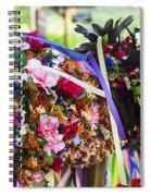 Headpiece Spiral Notebook