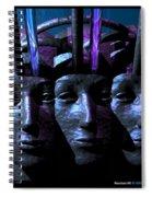 Headset 5  Spiral Notebook