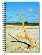 Headstand 2 Spiral Notebook