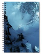 Headwall Mount Blanc Spiral Notebook