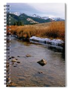 Headwaters Of The River Of No Return Spiral Notebook