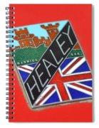 Healey Silverstone D Type Spiral Notebook