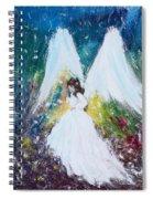 Healing Angel 2 Spiral Notebook