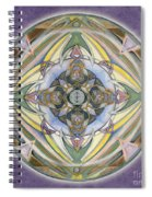 Healing Mandala Spiral Notebook
