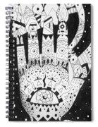 Healing Patterns I Spiral Notebook