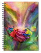 Healing Rose Spiral Notebook