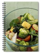 Healthy Mixed Salad Spiral Notebook