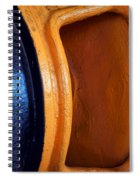 Hear No Evil - Industrial Abstract Spiral Notebook