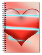 Hearbeat 1 Spiral Notebook