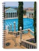 Hearst Castle Neptune Pool Spiral Notebook