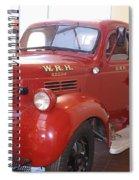 Hearst Fire Truck Spiral Notebook