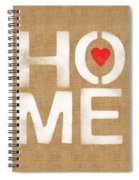 Heart And Home Spiral Notebook