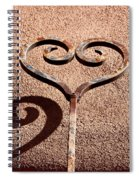 Heart And Shadow Spiral Notebook