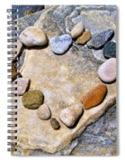Heart And Stones  Spiral Notebook