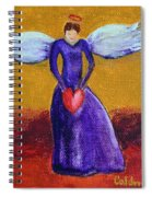 Heart Angel Spiral Notebook