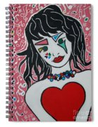 Heart Bit Spiral Notebook