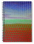 Heart Fields Again Spiral Notebook
